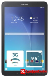 Samsung T561 Galaxy Tab E 8Gb 3G, Black